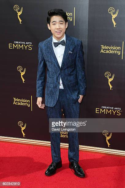 Actor Lance Lim attends the 2016 Creative Arts Emmy Awards Day 1 at the Microsoft Theater on September 10 2016 in Los Angeles California