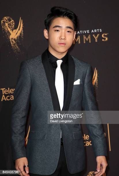 Actor Lance Lim attends the 2017 Creative Arts Emmy Awards at Microsoft Theater on September 10 2017 in Los Angeles California