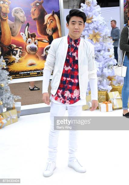 Actor Lance Lim attends the premiere of Columbia Pictures' 'The Star' at Regency Village Theatre on November 12 2017 in Westwood California