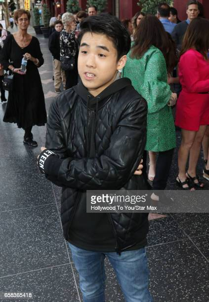 Actor Lance Lim is seen on March 26 2017 in Los Angeles California