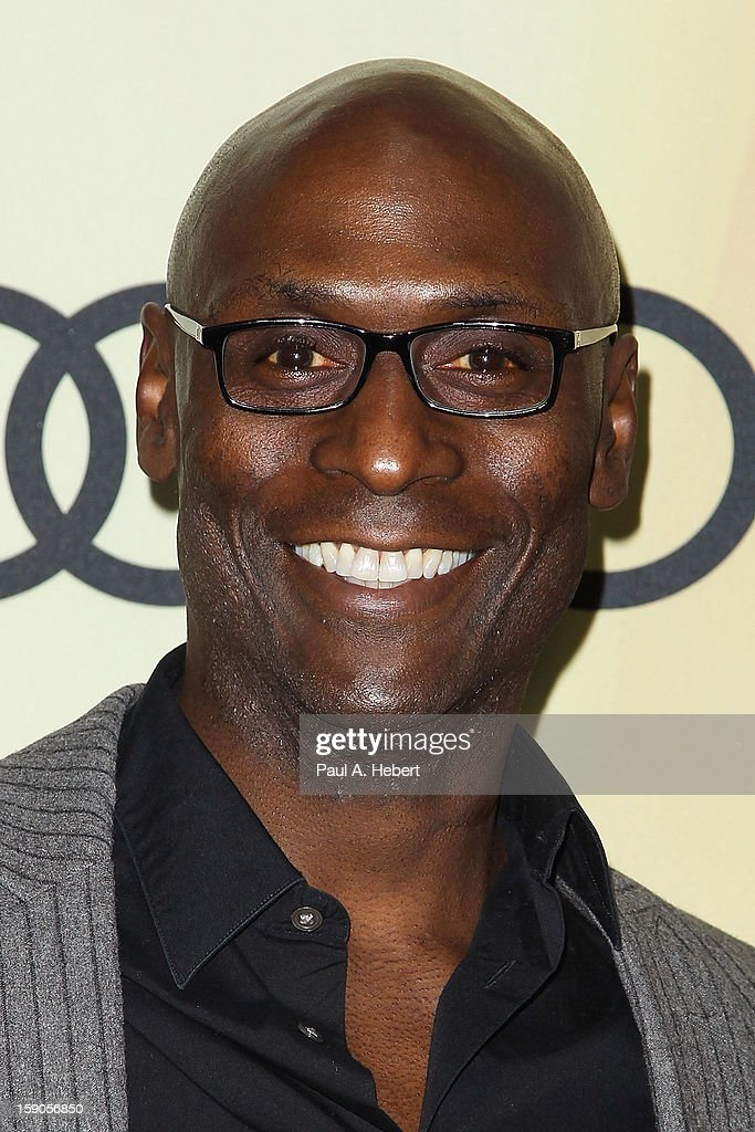 Actor Lance Reddick arrives at the Audi Golden Globe 2013 Kick Off Party at Cecconi's Restaurant on January 6, 2013 in Los Angeles, California.