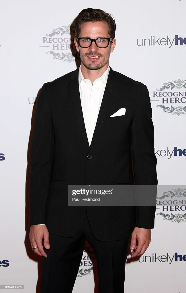 Actor Lane Carlson attends 'Unlikely Heroes' Recognizing Heroes Awards Dinner and Gala at The Living Room at The W Hotel on October 19, 2013 in Los Angeles, California.