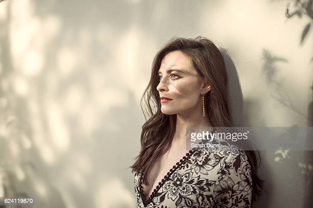 Actor Lara Pulver is photographed on October 10 2016 in Los Angeles California