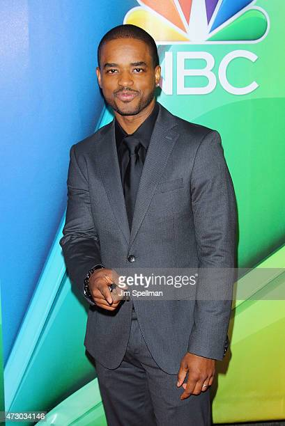Actor Larenz Tate attends the 2015 NBC upfront presentation red carpet event at Radio City Music Hall on May 11 2015 in New York City