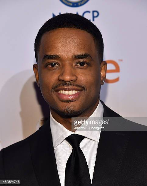 Actor Larenz Tate attends the 46th NAACP Image Awards NonTelevised Awards Ceremony at Pasadena Convention Center on February 5 2015 in Pasadena...