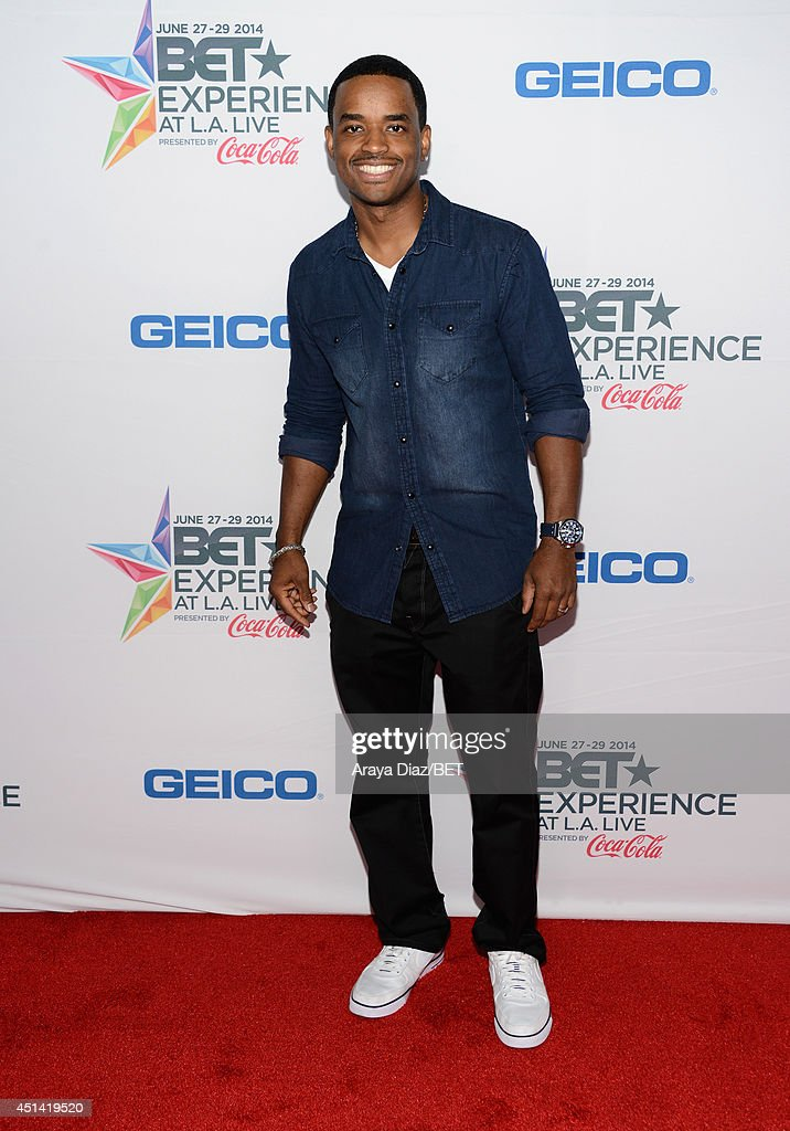 Actor <a gi-track='captionPersonalityLinkClicked' href=/galleries/search?phrase=Larenz+Tate&family=editorial&specificpeople=240287 ng-click='$event.stopPropagation()'>Larenz Tate</a> attends the BETX Film Festival presented by Geico during the 2014 BET Experience At L.A. LIVE on June 28, 2014 in Los Angeles, California.