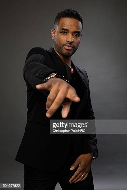 Actor Larenz Tate poses for a portrait during the NBCUniversal Press Day at The Langham Huntington Pasadena on January 13 2016 in Pasadena California...
