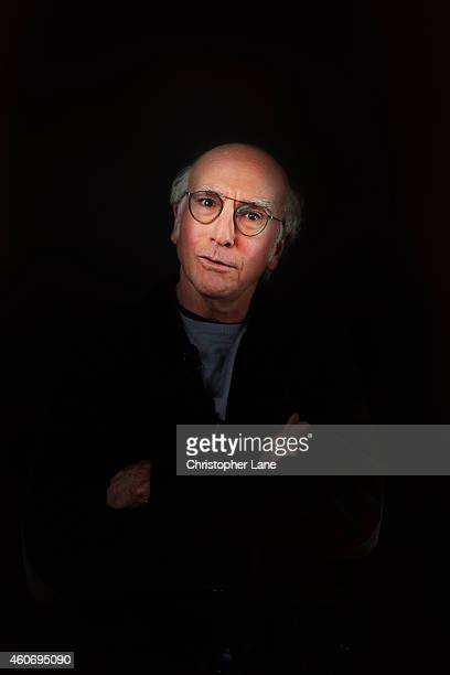 Actor Larry David is photographed at the 15th Annual New Yorker Festival on October 14 2014 in New York City