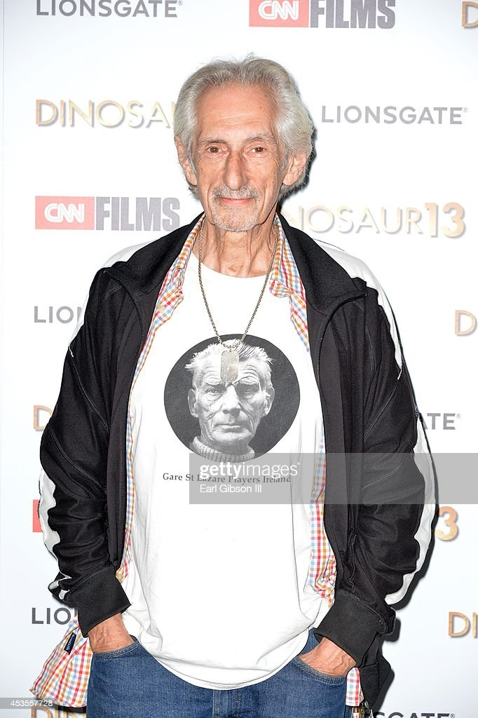 Actor <a gi-track='captionPersonalityLinkClicked' href=/galleries/search?phrase=Larry+Hankin&family=editorial&specificpeople=4167570 ng-click='$event.stopPropagation()'>Larry Hankin</a> attends the premiere of Lionsgate and CNN Film 'Dinosaur 13' at DGA Theater on August 12, 2014 in Los Angeles, California.