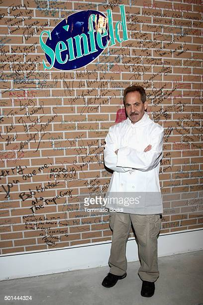 Actor Larry Thomas attends Seinfeld The Apartment Fan Experience on December 15 2015 in Los Angeles California