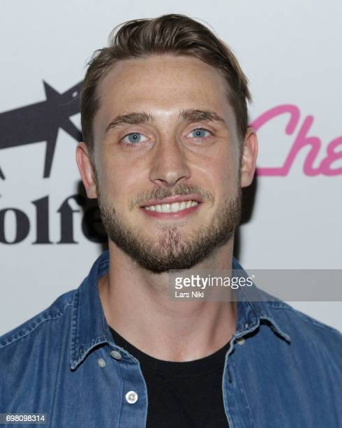 Actor Lars Berge attends the Cherry Pop Premiere at OutCinema Presented by NewFest and NYC Pride at SVA Theater on June 19 2017 in New York City