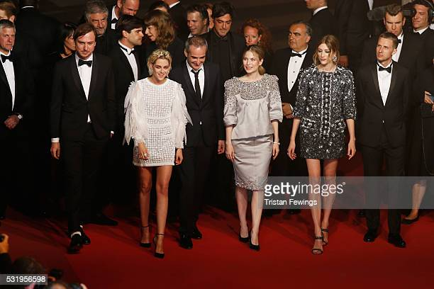 Actor Lars Eidinger actress Kristen Stewart director Olivier Assayas actress Nora von Waldstaetten actress Sigrid Bouaziz actor Anders Danielsen Lie...