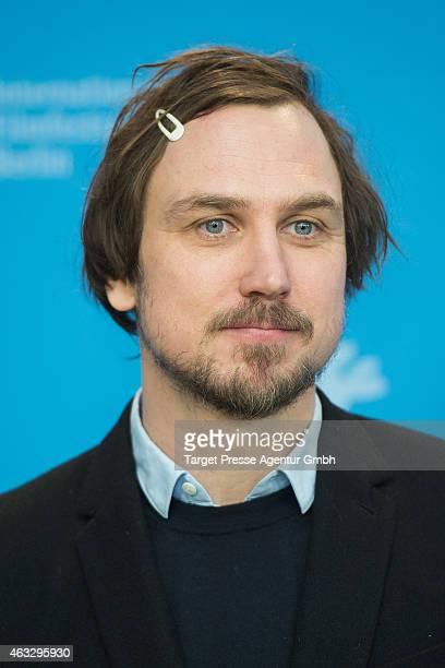 Actor Lars Eidinger attends the 'Sworn Virgin' photocall during the 65th Berlinale International Film Festival at Grand Hyatt Hotel on February 12...