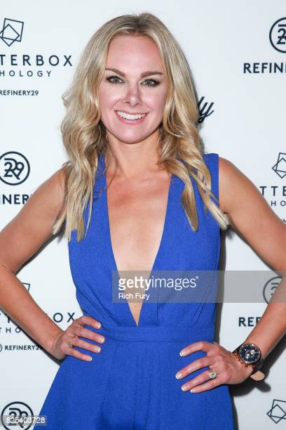 Actor Laura Bell Bundy attends Refinery29's Shatterbox Anthology premiere of Courtney Hoffman's 'The Good Time Girls' on August 1 2017 in Los Angeles...