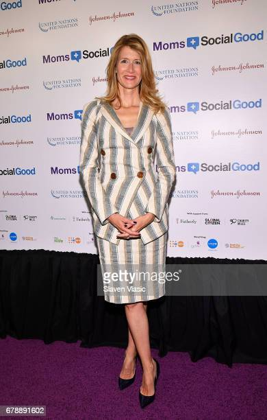 Actor Laura Dern attends 5th Annual Moms SocialGood event at AXA Event Production Center on May 4 2017 in New York City