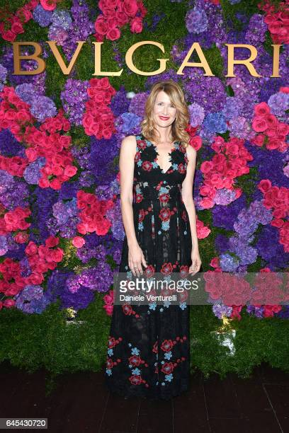 Actor Laura Dern attends Bulgari's PreOscar Dinner at Chateau Marmont on February 25 2017 in Hollywood United States
