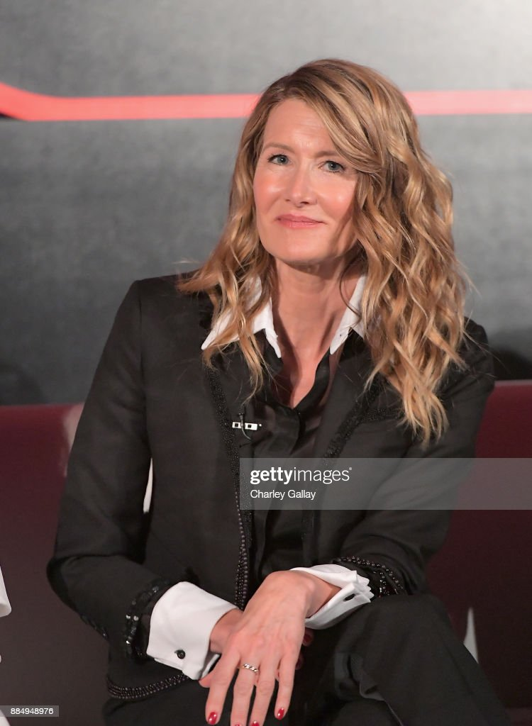 Actor Laura Dern attends the press conference for the highly anticipated Star Wars: The Last Jedi at InterContinental Los Angeles on December 3, 2017 in Los Angeles, California.