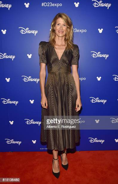Actor Laura Dern of STAR WARS THE LAST JEDI took part today in the Walt Disney Studios live action presentation at Disney's D23 EXPO 2017 in Anaheim...