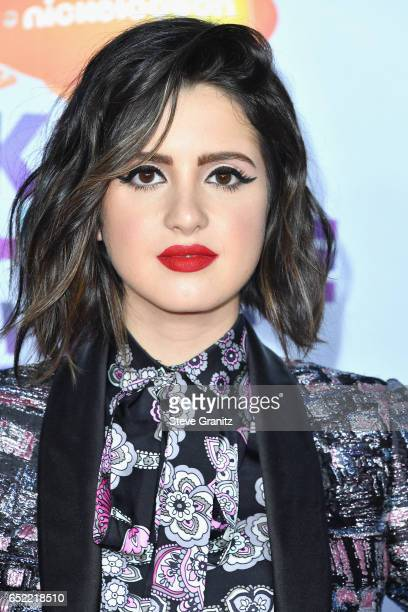 Actor Laura Marano at Nickelodeon's 2017 Kids' Choice Awards at USC Galen Center on March 11 2017 in Los Angeles California