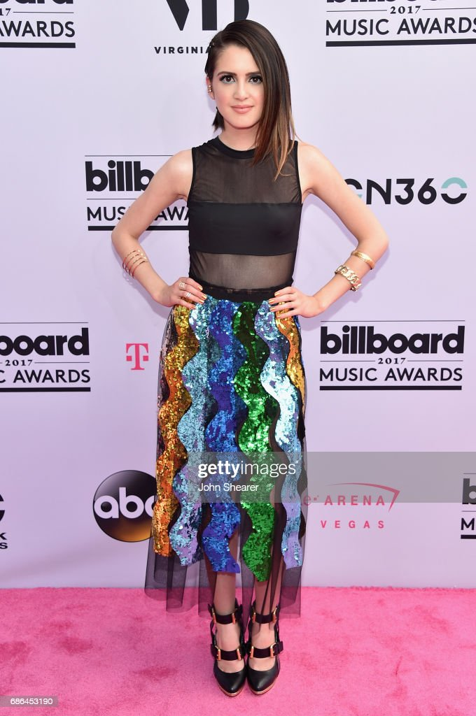 Actor Laura Marano attends the 2017 Billboard Music Awards at T-Mobile Arena on May 21, 2017 in Las Vegas, Nevada.