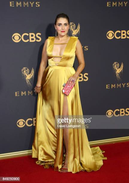 Actor Lauren Adams attends the 69th Annual Primetime Emmy Awards Arrivals at Microsoft Theater on September 17 2017 in Los Angeles California
