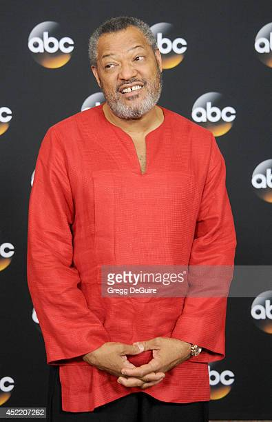 Actor Laurence Fishburne arrives at the 2014 Television Critics Association Summer Press Tour Disney/ABC Television Group at The Beverly Hilton Hotel...