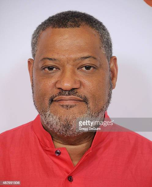 Actor Laurence Fishburne arrives at the Disney ABC Television Group's 2015 TCA Summer Press Tour on August 4 2015 in Beverly Hills California