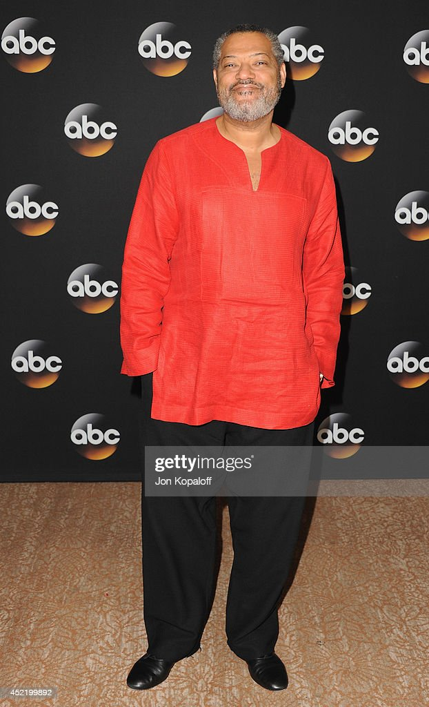 Actor <a gi-track='captionPersonalityLinkClicked' href=/galleries/search?phrase=Laurence+Fishburne&family=editorial&specificpeople=206347 ng-click='$event.stopPropagation()'>Laurence Fishburne</a> arrives the Disney|ABC Television Group 2014 Television Critics Association Summer Press Tour at The Beverly Hilton Hotel on July 15, 2014 in Beverly Hills, California.