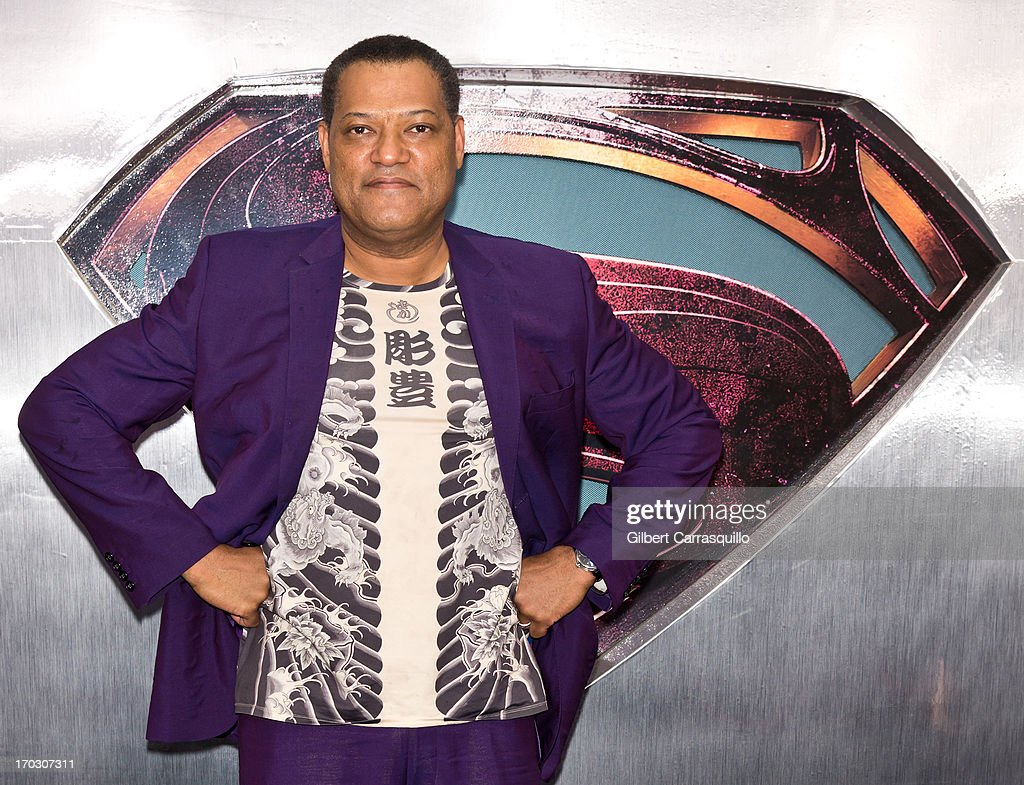 Actor <a gi-track='captionPersonalityLinkClicked' href=/galleries/search?phrase=Laurence+Fishburne&family=editorial&specificpeople=206347 ng-click='$event.stopPropagation()'>Laurence Fishburne</a> attends 'Man Of Steel' World Premiere at Alice Tully Hall at Lincoln Center on June 10, 2013 in New York City.