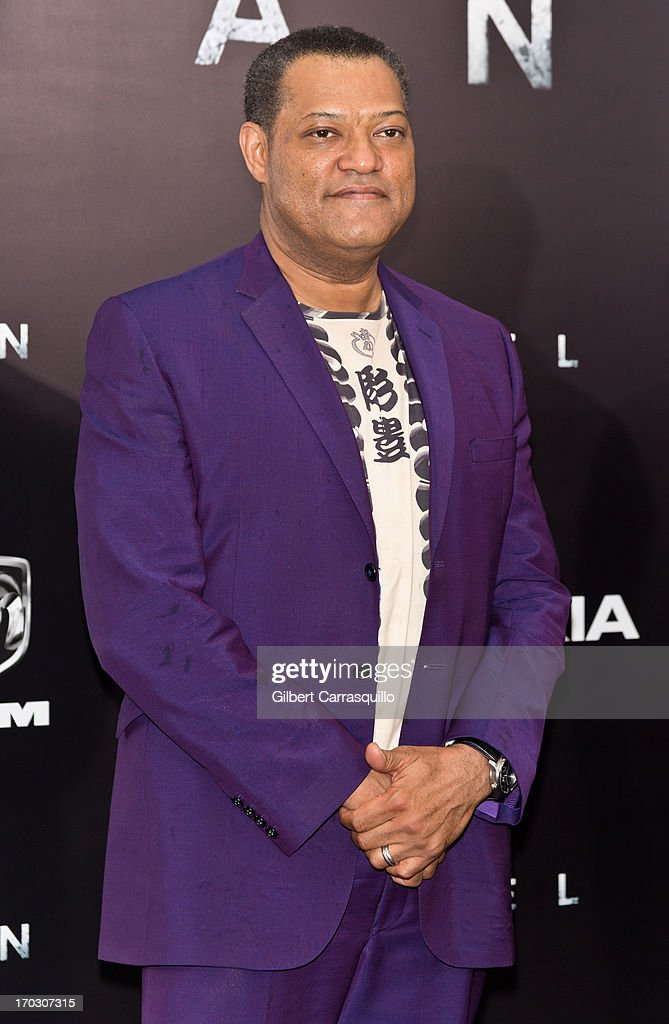 Actor Laurence Fishburne attends 'Man Of Steel' World Premiere at Alice Tully Hall at Lincoln Center on June 10, 2013 in New York City.