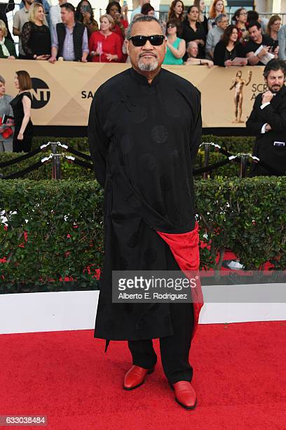 Actor Laurence Fishburne attends the 23rd Annual Screen Actors Guild Awards at The Shrine Expo Hall on January 29 2017 in Los Angeles California
