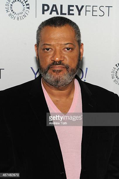 Actor Laurence Fishburne attends the 2nd annual Paleyfest New York presents 'Hannibal' at Paley Center For Media on October 18 2014 in New York New...