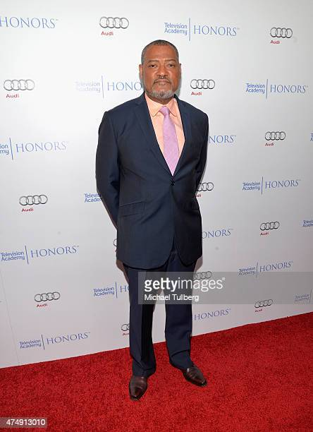 Actor Laurence Fishburne attends the 8th Annual Television Academy Honors at Montage Beverly Hills on May 27 2015 in Beverly Hills California