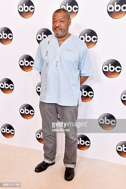 Actor Laurence Fishburne attends the Disney ABC Television Group TCA Summer Press Tour on August 4 2016 in Beverly Hills California