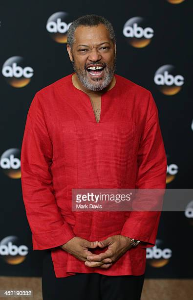 Actor Laurence Fishburne attends the Disney ABC Television Group's TCA Summer Press Tour on July 15 2014 in Beverly Hills California