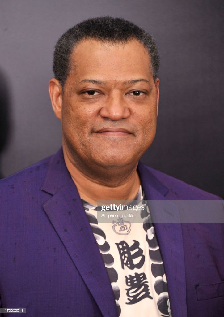 Actor <a gi-track='captionPersonalityLinkClicked' href=/galleries/search?phrase=Laurence+Fishburne&family=editorial&specificpeople=206347 ng-click='$event.stopPropagation()'>Laurence Fishburne</a> attends the 'Man Of Steel' world premiere at Alice Tully Hall at Lincoln Center on June 10, 2013 in New York City.