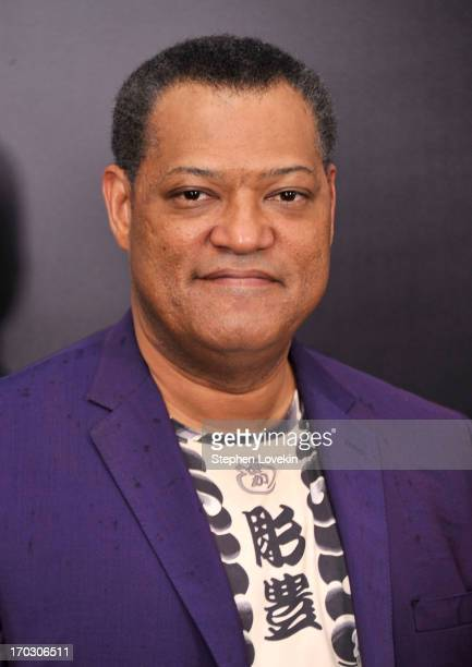 Actor Laurence Fishburne attends the 'Man Of Steel' world premiere at Alice Tully Hall at Lincoln Center on June 10 2013 in New York City