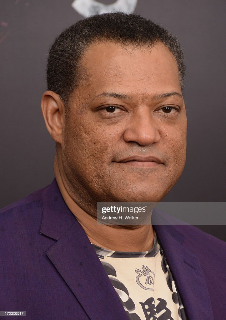 Actor Laurence Fishburne attends the 'Man Of Steel' world premiere at Alice Tully Hall at Lincoln Center on June 10, 2013 in New York City.