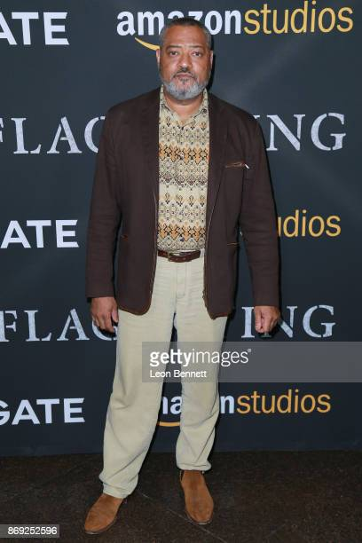 Actor Laurence Fishburne attends the premiere of Amazon's 'Last Flag Flying' at DGA Theater on November 1 2017 in Los Angeles California