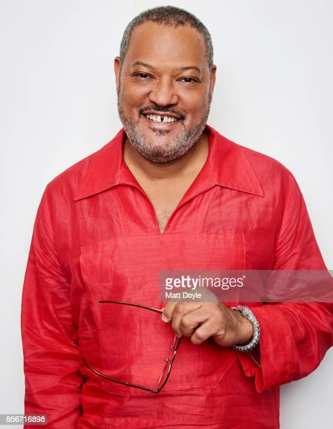 Actor Laurence Fishburne from the film 'Last Flag Flying' poses for a portrait at the 55th New York Film Festival on September 28 2017