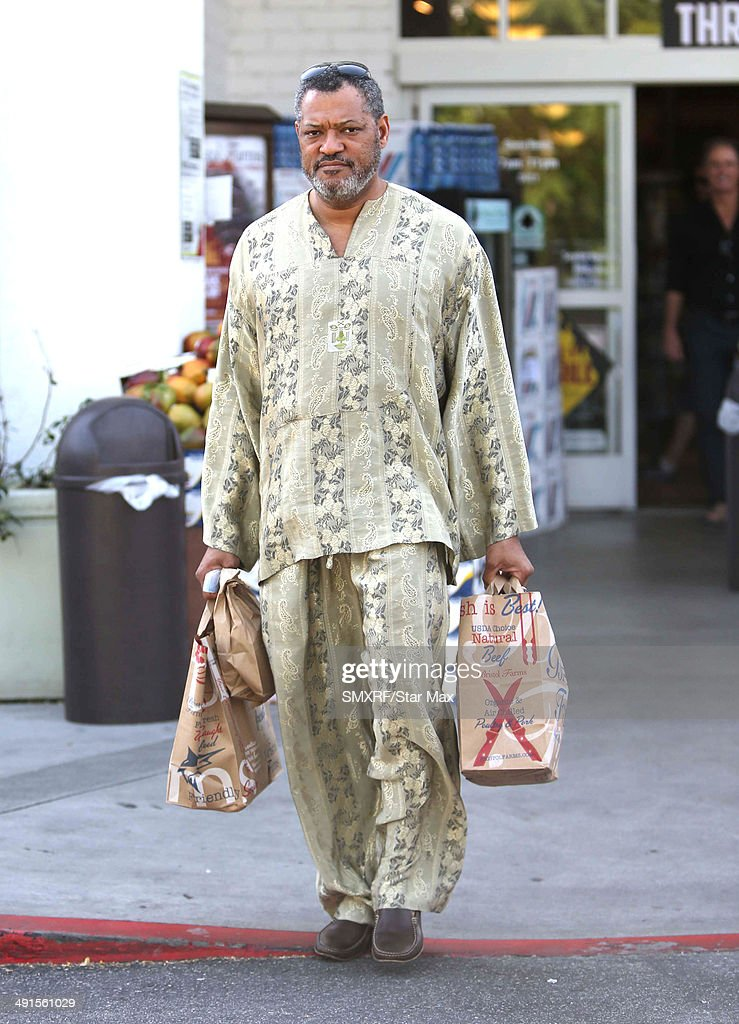 Actor <a gi-track='captionPersonalityLinkClicked' href=/galleries/search?phrase=Laurence+Fishburne&family=editorial&specificpeople=206347 ng-click='$event.stopPropagation()'>Laurence Fishburne</a> is seen on May 16, 2014 in Los Angeles, California.