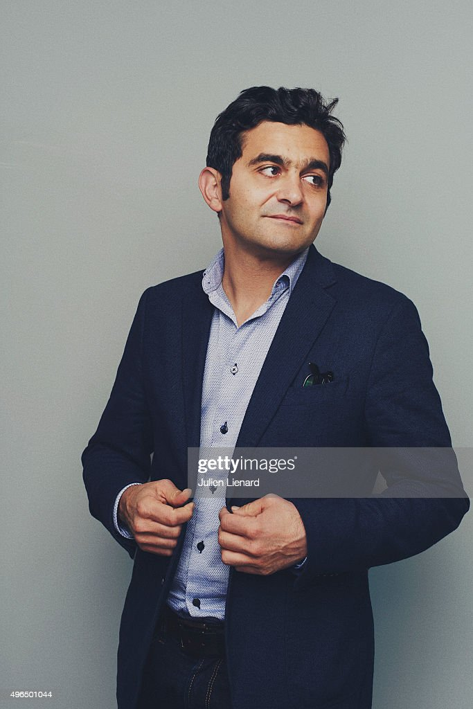 Actor Laurent Capelluto is photographed for Self Assignment on October 5 2015 in Namur Belgium