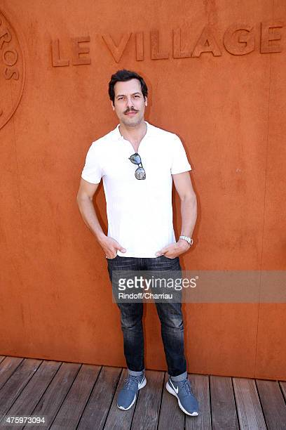 Actor Laurent Lafitte attends the 2015 Roland Garros French Tennis Open Day Thirteen on June 5 2015 in Paris France
