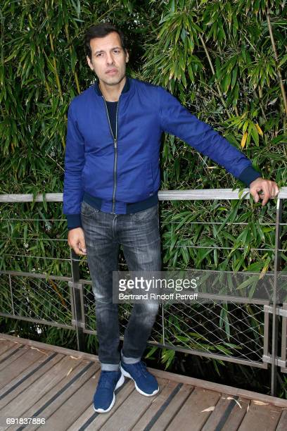 Actor Laurent Lafitte attends the 2017 French Tennis Open Day Seven at Roland Garros on June 3 2017 in Paris France