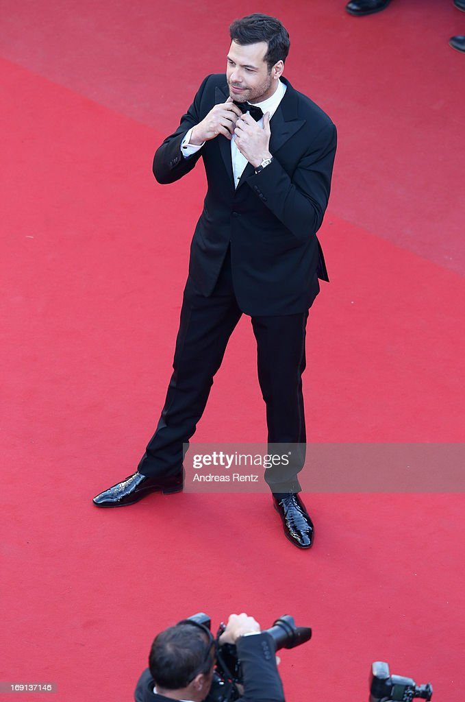 Actor Laurent Lafitte attends the 'Blood Ties' Premiere during the 66th Annual Cannes Film Festival at the Palais des Festivals on May 20, 2013 in Cannes, France.