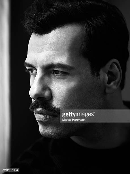 Actor Laurent Lafitte is photographed for Self Assignment on April 6 2016 in Paris France