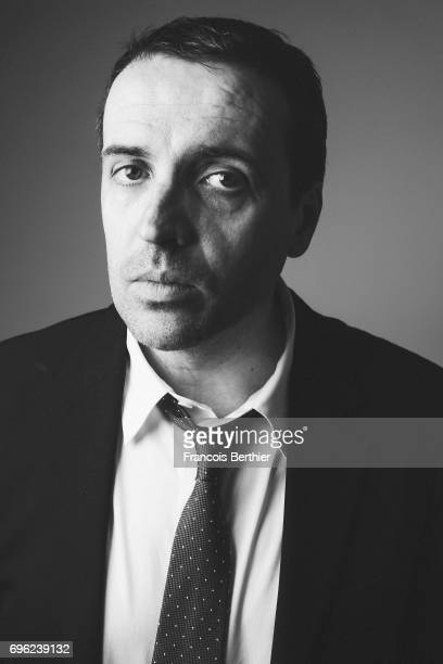 Actor Laurent Poitrenaux is photographed on May 24 2017 in Cannes France