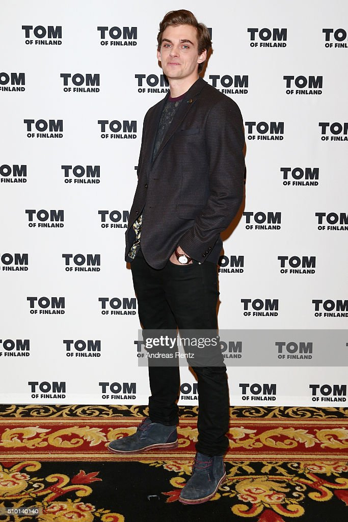 Actor Lauri Tilkanen attends the 'Tom of Finland' press conference during the 66th Berlinale International Film Festival Berlin at Ritz Carlton on February 14, 2016 in Berlin, Germany.