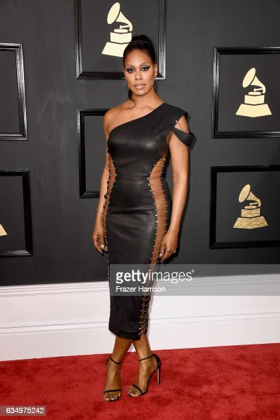 Actor Laverne Cox attends The 59th GRAMMY Awards at STAPLES Center on February 12 2017 in Los Angeles California