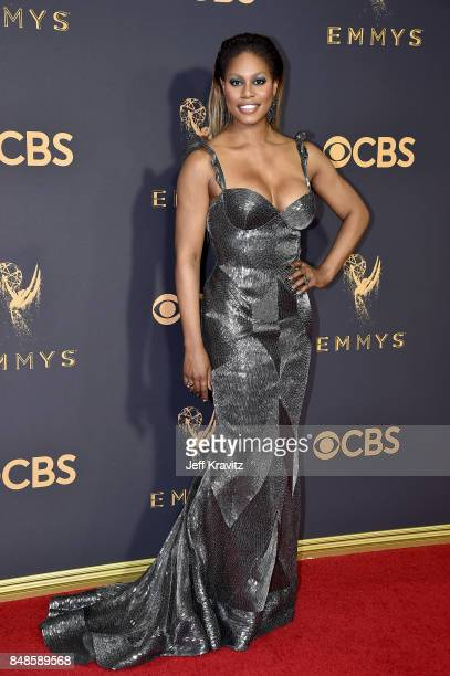 Actor Laverne Cox attends the 69th Annual Primetime Emmy Awards at Microsoft Theater on September 17 2017 in Los Angeles California